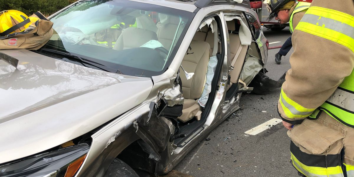Five taken to hospital after multi-vehicle crash in Myrtle Beach area