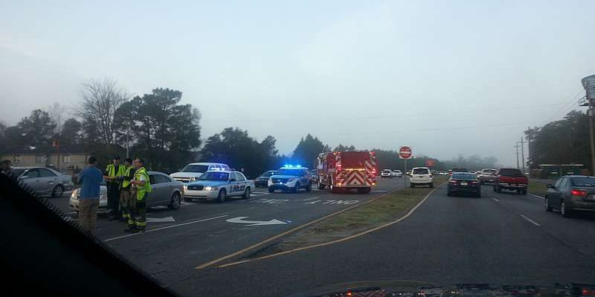 2 accidents delay traffic on Hwy 17 Bypass in northern Myrtle Beach