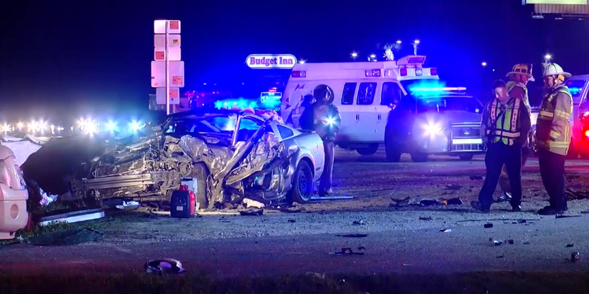 Three vehicle crash on Highway 501 sends four people to the hospital