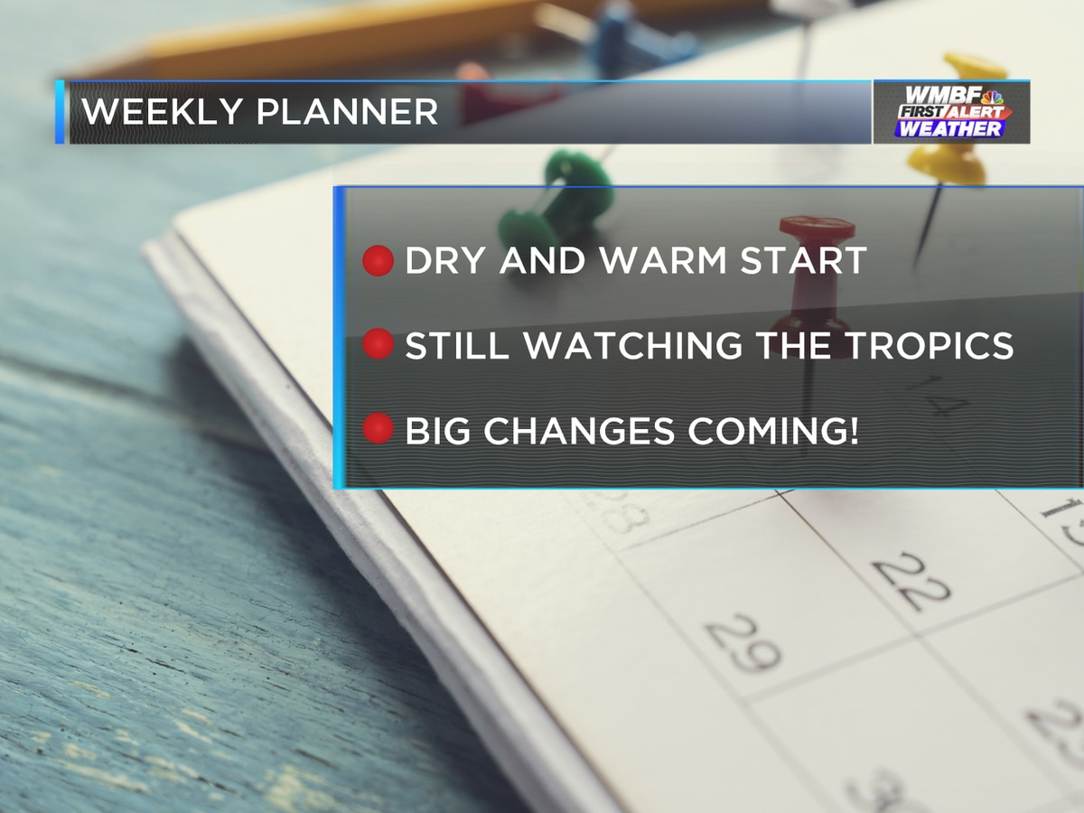 First Alert: Warm start to the week, big changes ahead