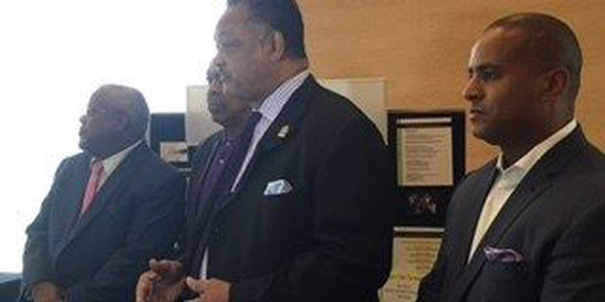 Reverend Jesse Jackson visits Myrtle Beach to announce opening of Rainbow Push offices