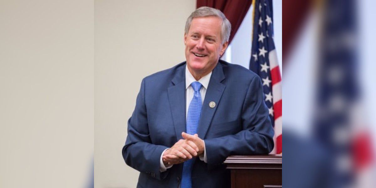 President Trump names NC Congressman Mark Meadows as new White House chief of staff