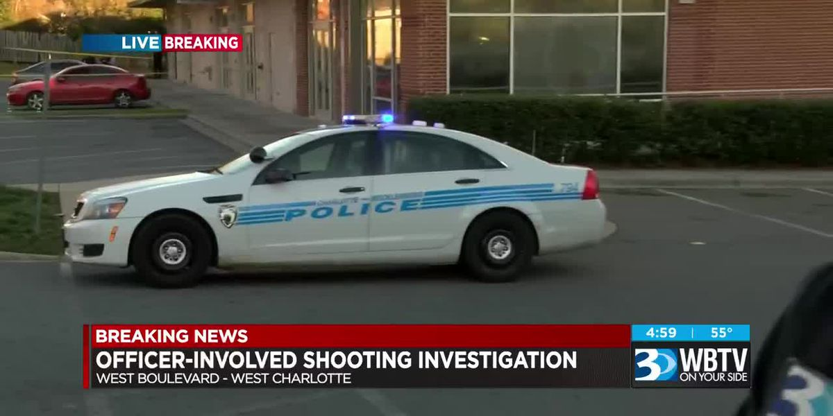 CMPD investigating officer-involved shooting on Remount Rd.