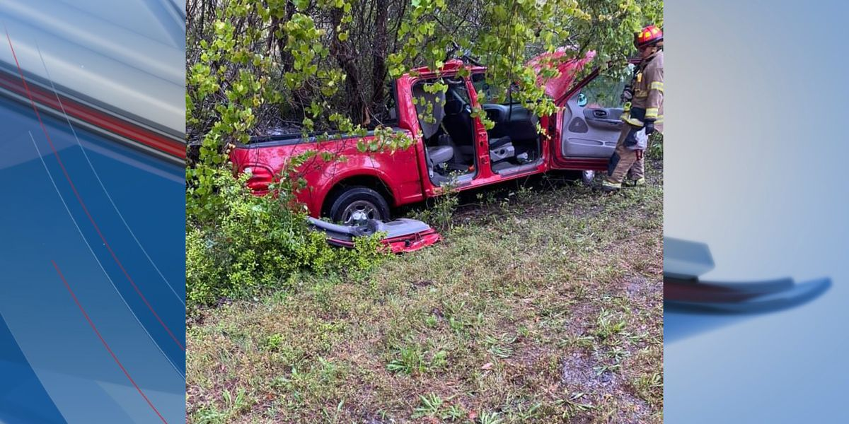 One person injured in rollover crash in Pawleys Island area