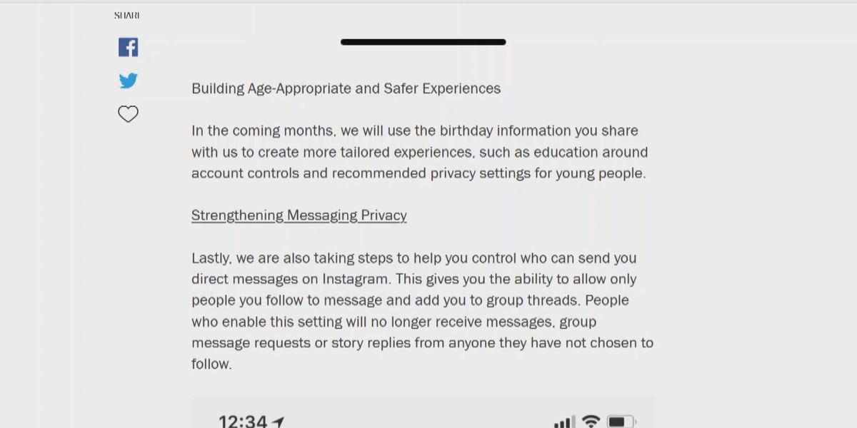 Instagram adds new features to make app safer for youngest users