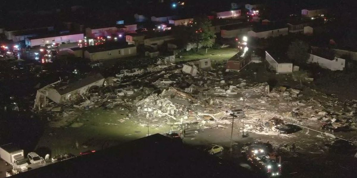 Deaths reported after likely tornado rips through Oklahoma town