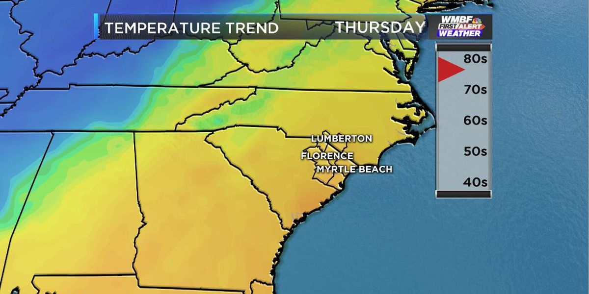 FIRST ALERT: Cool Tuesday followed by a late week warm up