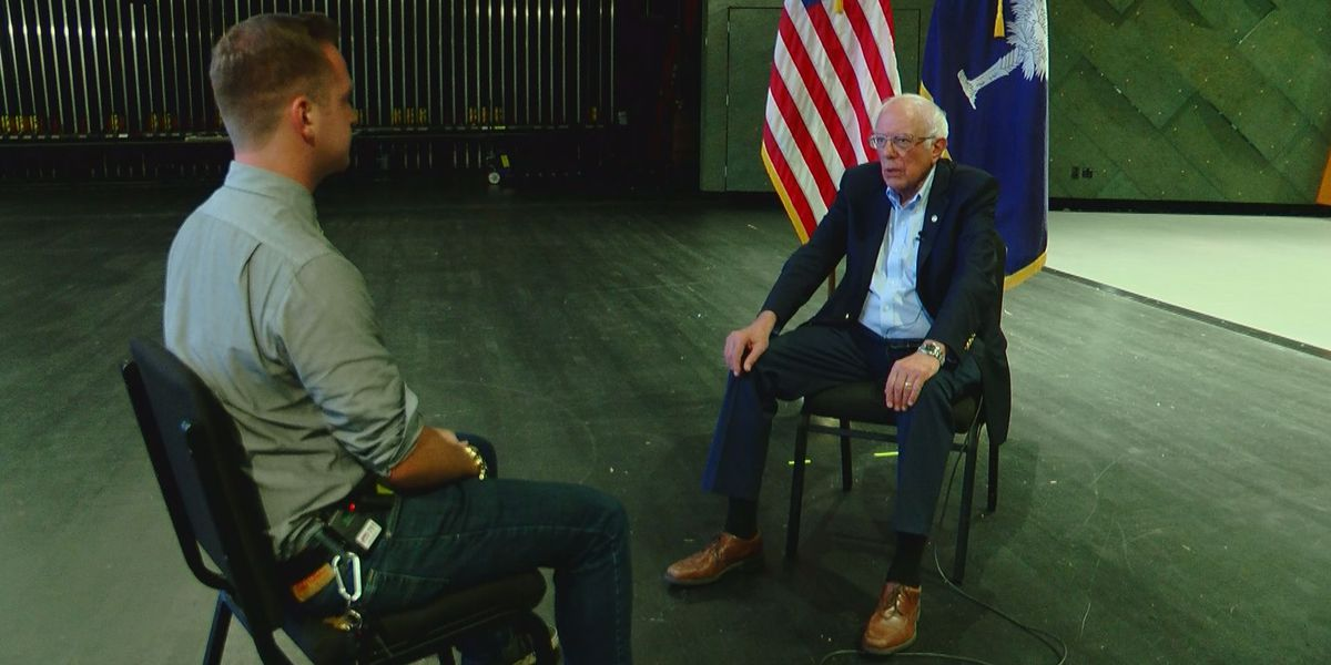WMBF sits down one-on-one with Bernie Sanders during Pee Dee campaign stop