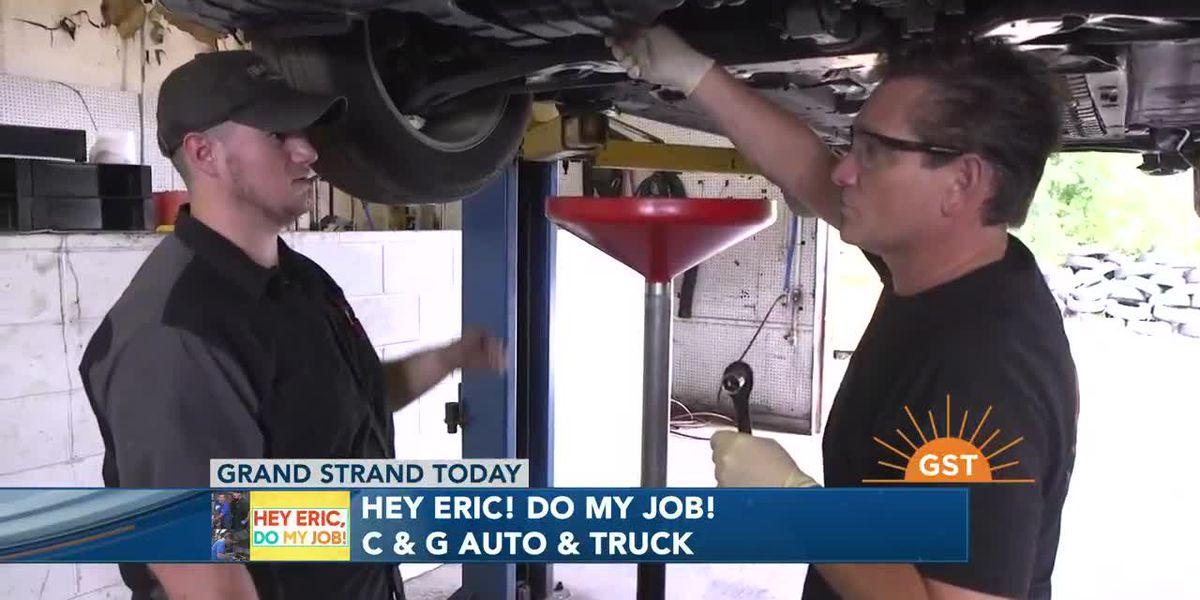 Hey Eric Do My Job: Mechanic for a day