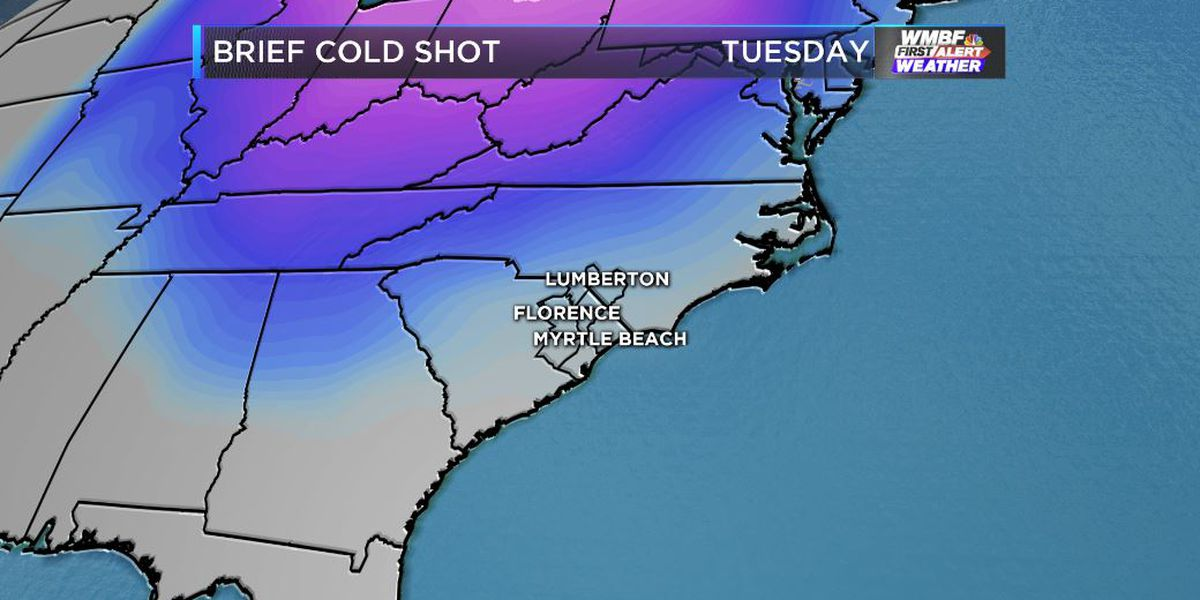 FIRST ALERT: Despite the warming trend, a strong cold front will push through Tuesday afternoon
