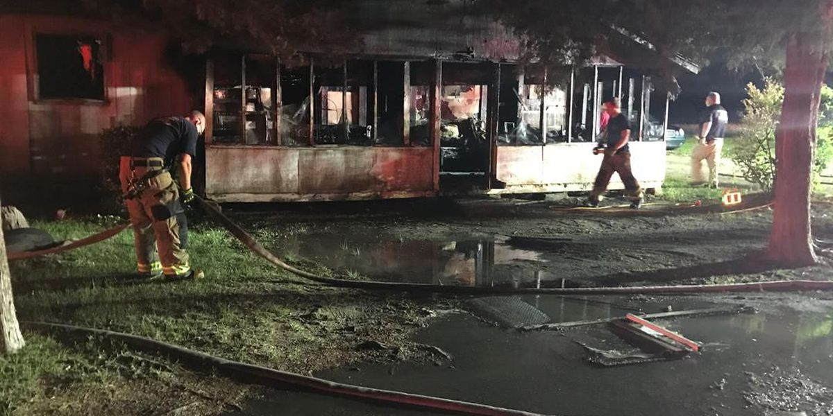 Woman, daughter escape from house fire in Little River
