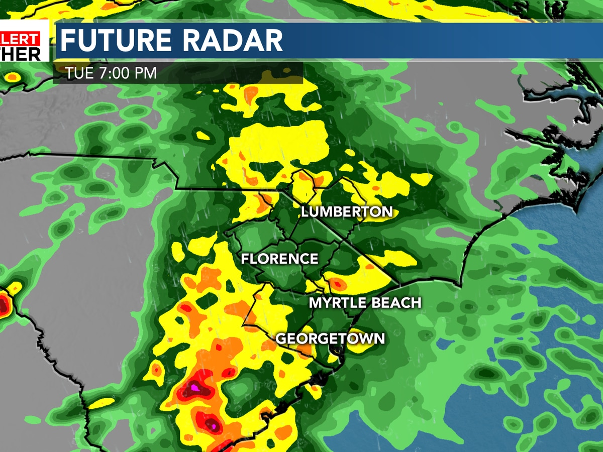 FIRST ALERT: Rainy day ahead, cooler temperatures continue