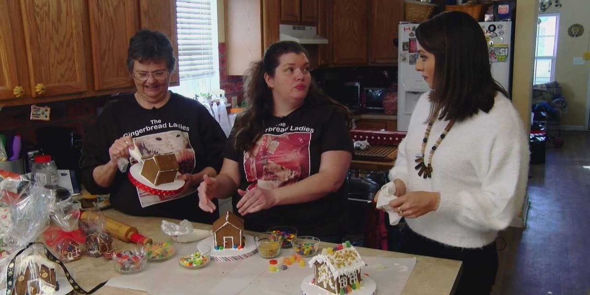 Gingerbread Ladies share secret recipe for the perfect gingerbread house