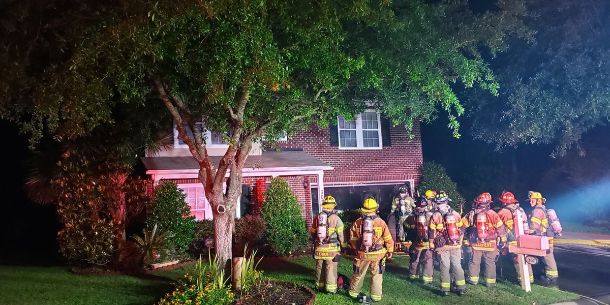 Three displaced after early morning fire in Horry County