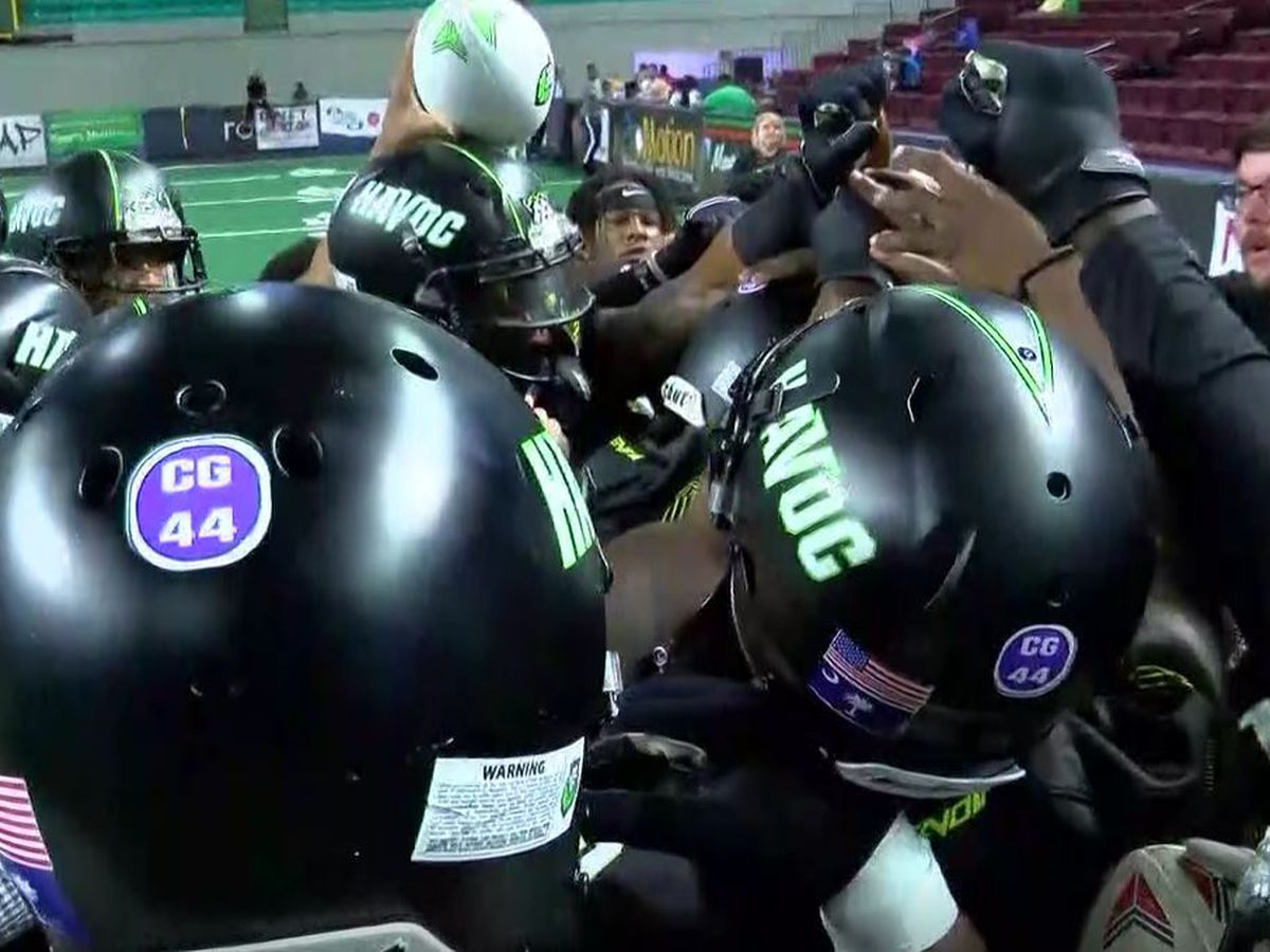 Florence's new arena football team wins nail biter on final play