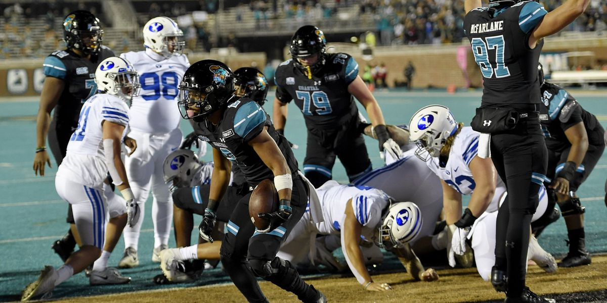 Chants Up! Coastal claims No. 14 ranking in final AP poll