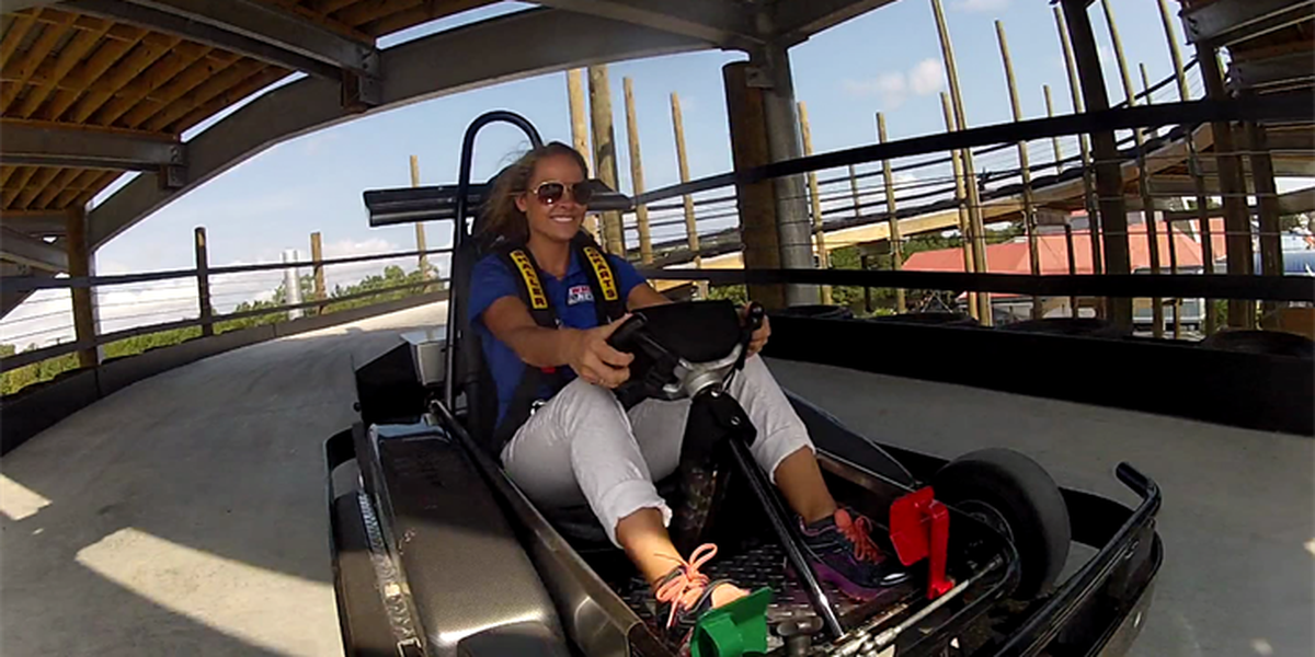WMBF News previews new go-kart track coming to Restaurant Row