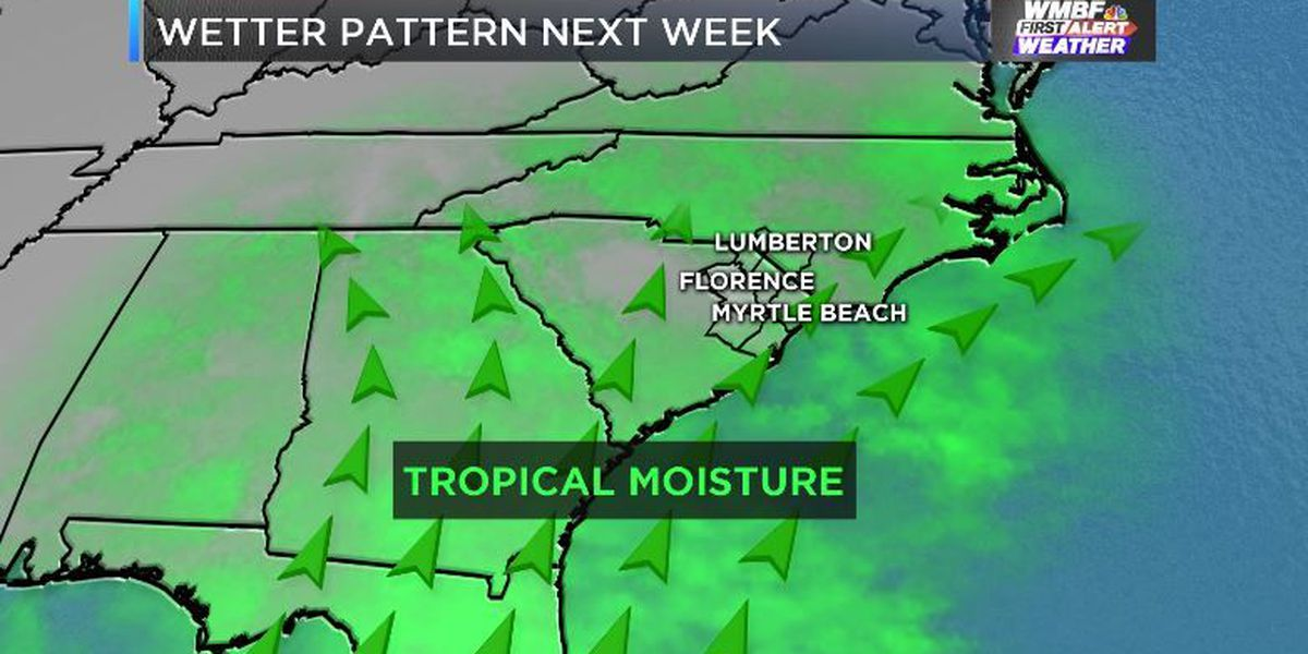 FIRST ALERT: End of the dry spell in sight as rainy relief arrives mid-week