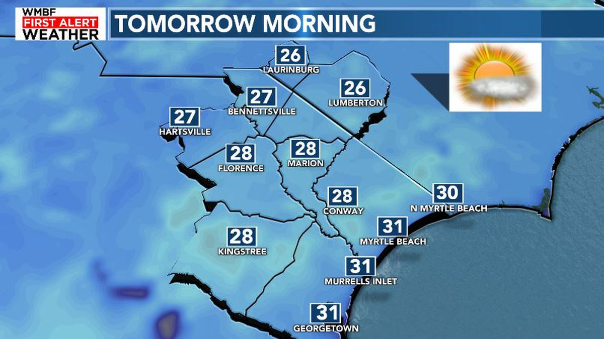 FIRST ALERT: Another cold night ahead of next weather-maker