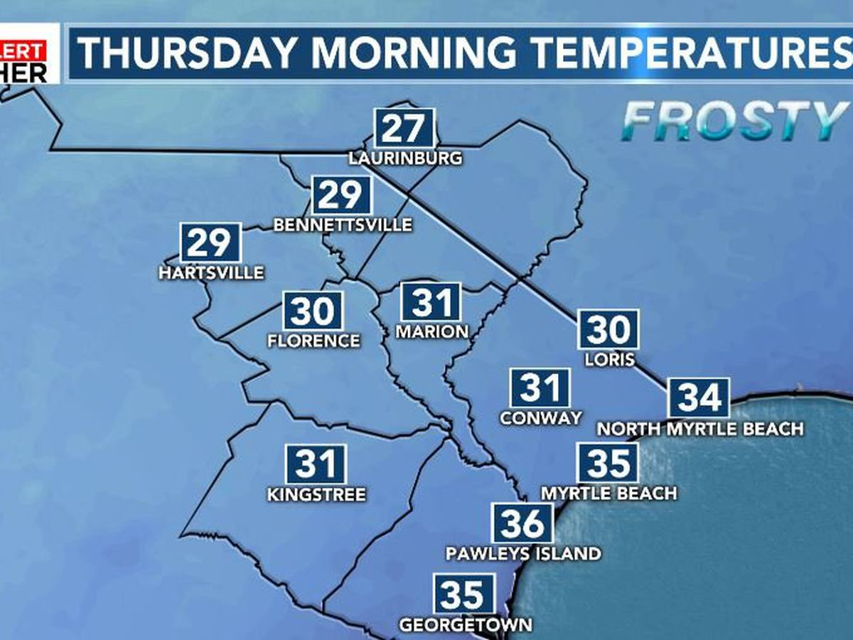 FIRST ALERT: Another cold night, followed by more rain