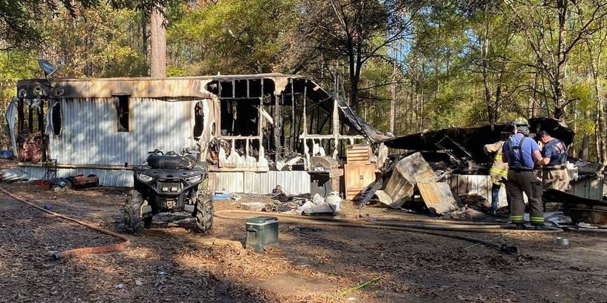 Volunteer firefighter loses home to fire in S.C.
