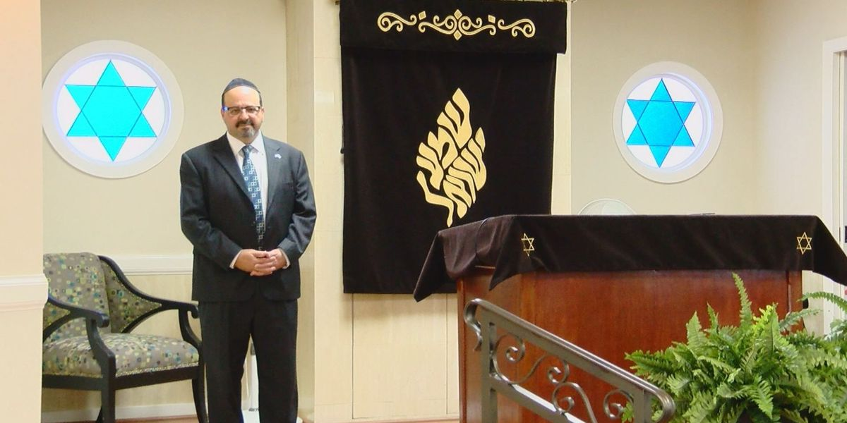 Myrtle Beach rabbi speaks after man allegedly plans attack on temple 'in the spirit of Dylann Roof'