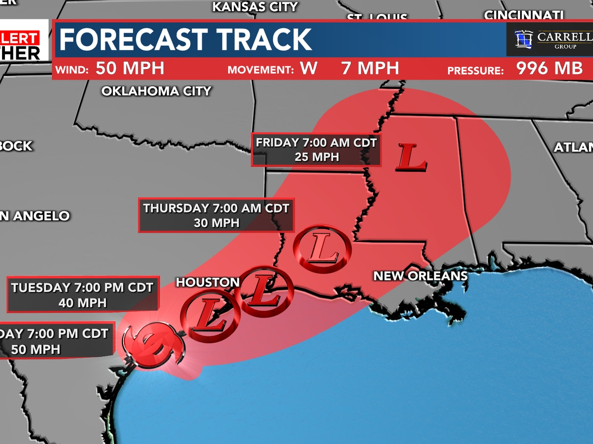 FIRST ALERT: Tropical Storm Beta to bring heavy rain to Texas