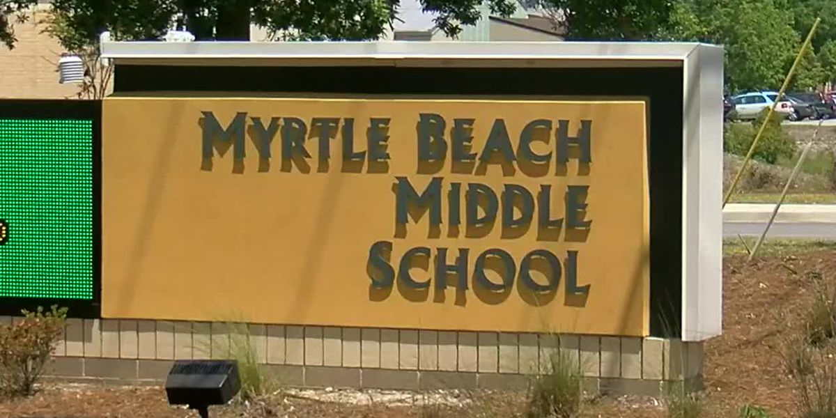 State Sen. Greg Hembree subs at Myrtle Beach Middle