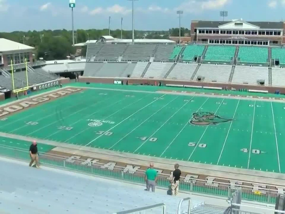 Date for inaugural Myrtle Beach Bowl at CCU's Brooks Stadium announced