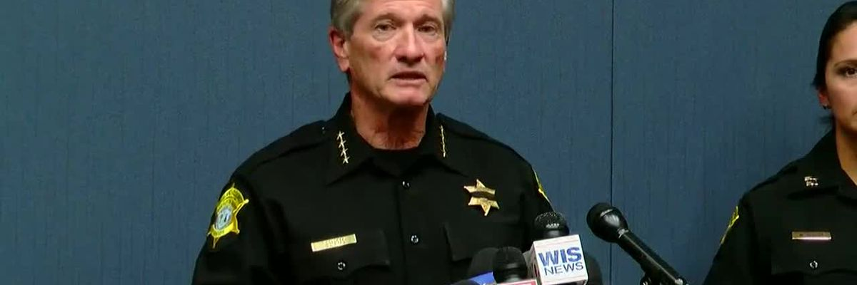 Richland County Sheriff press conference on Florence Co. shooting
