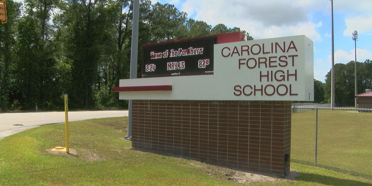 HCS announces Carolina Forest HS will return to five-day of face-to-face learning next week