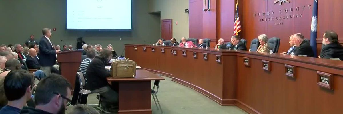 Horry County Council schedules special meeting