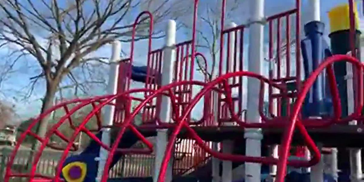 New playground at Riverfront Park open