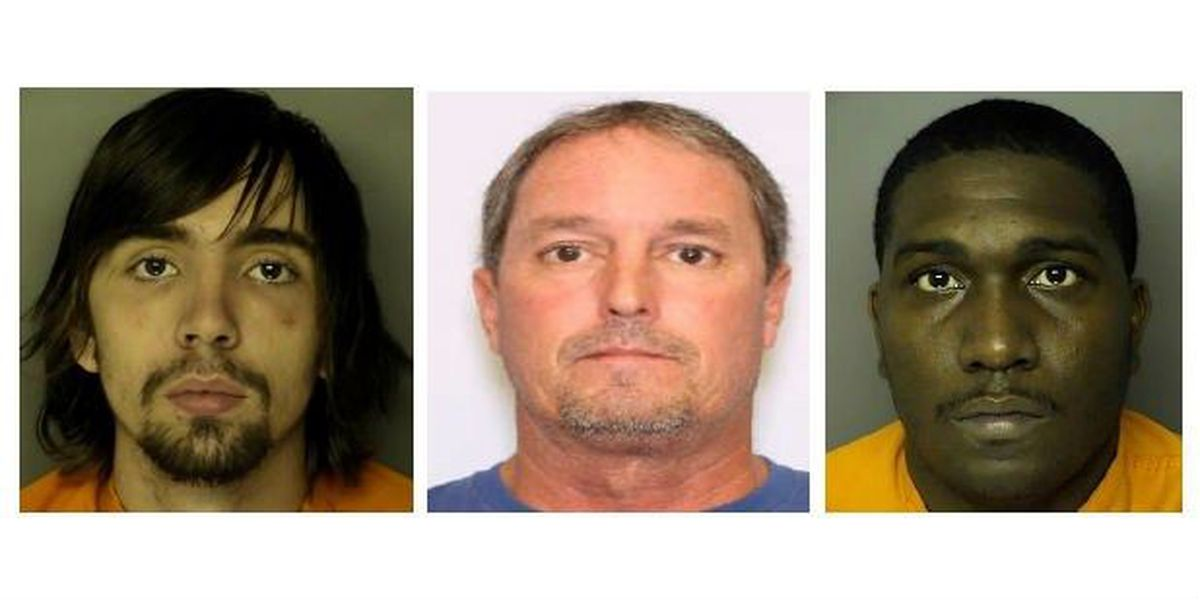 Three new suspects make 'Horry County's Most Wanted' list
