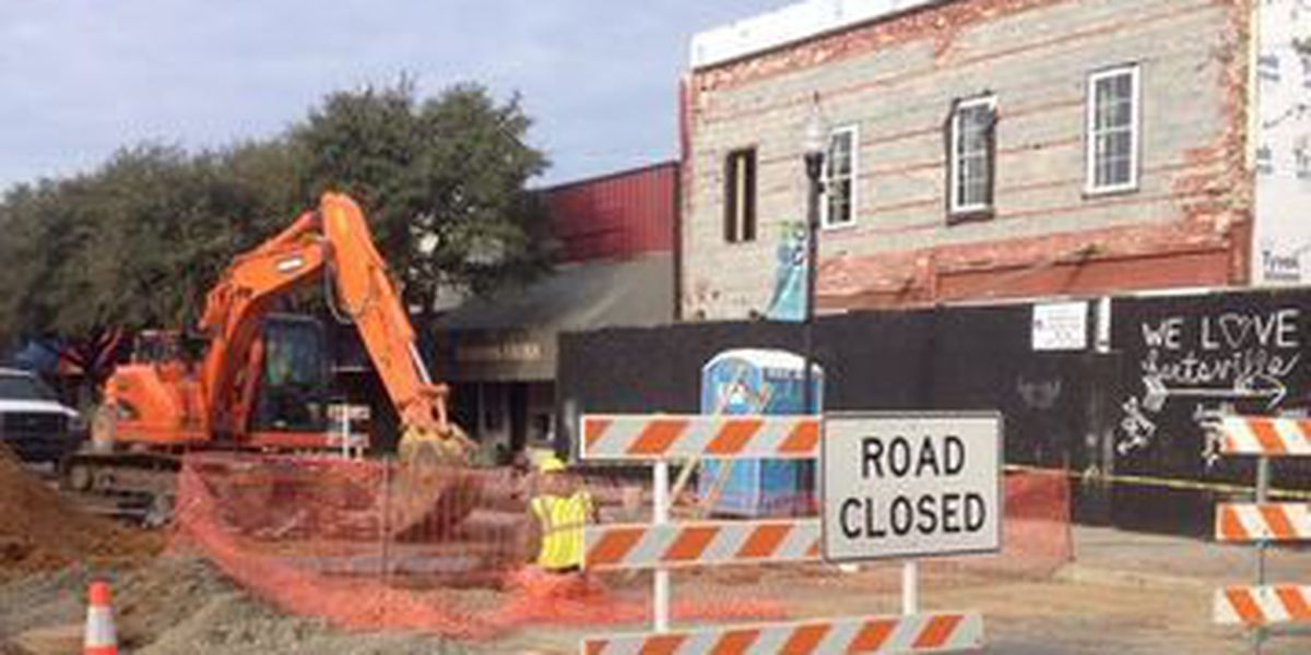 Carolina Avenue closed for sewer project in Hartsville