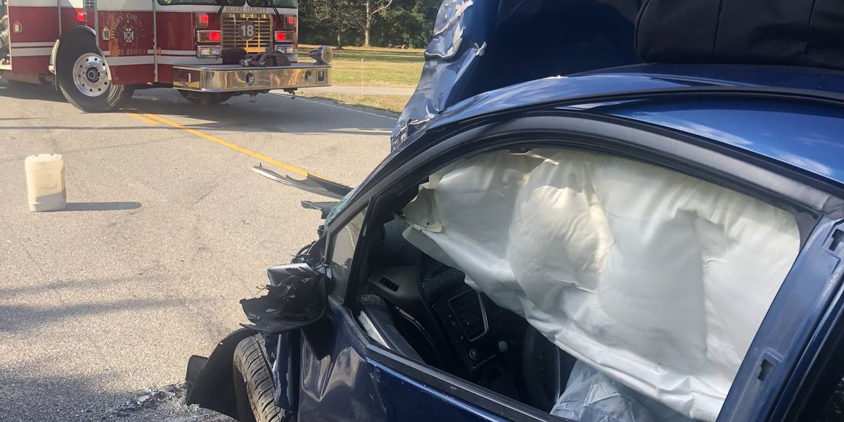 One injured in two-vehicle crash in Little River area