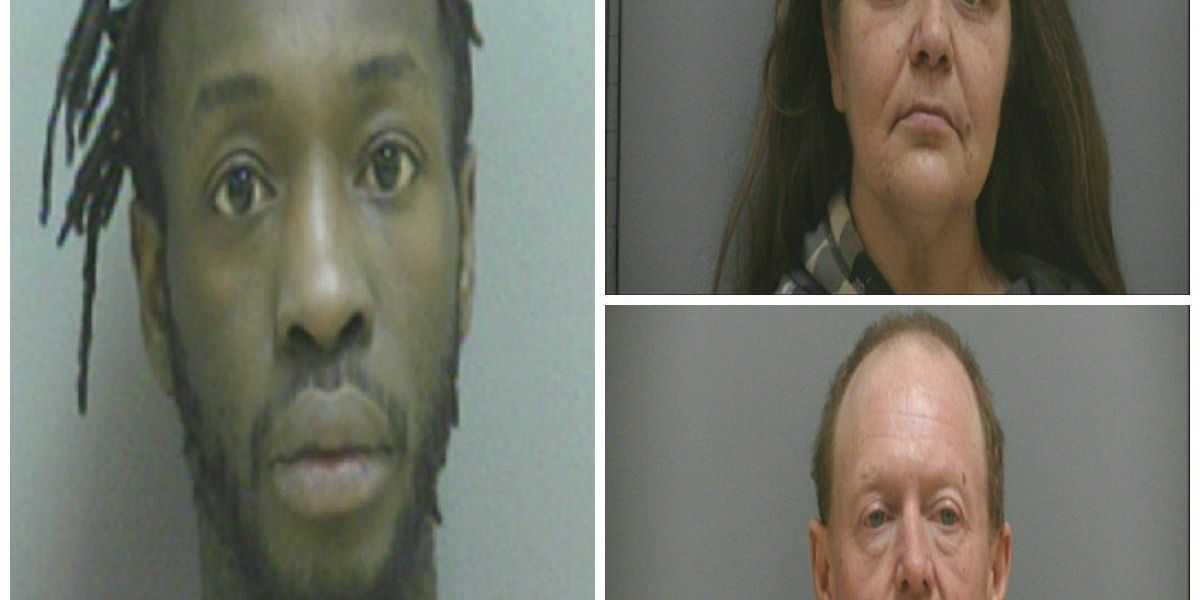 3 arrested for allegedly distributing meth, other drugs in Darlington Co.