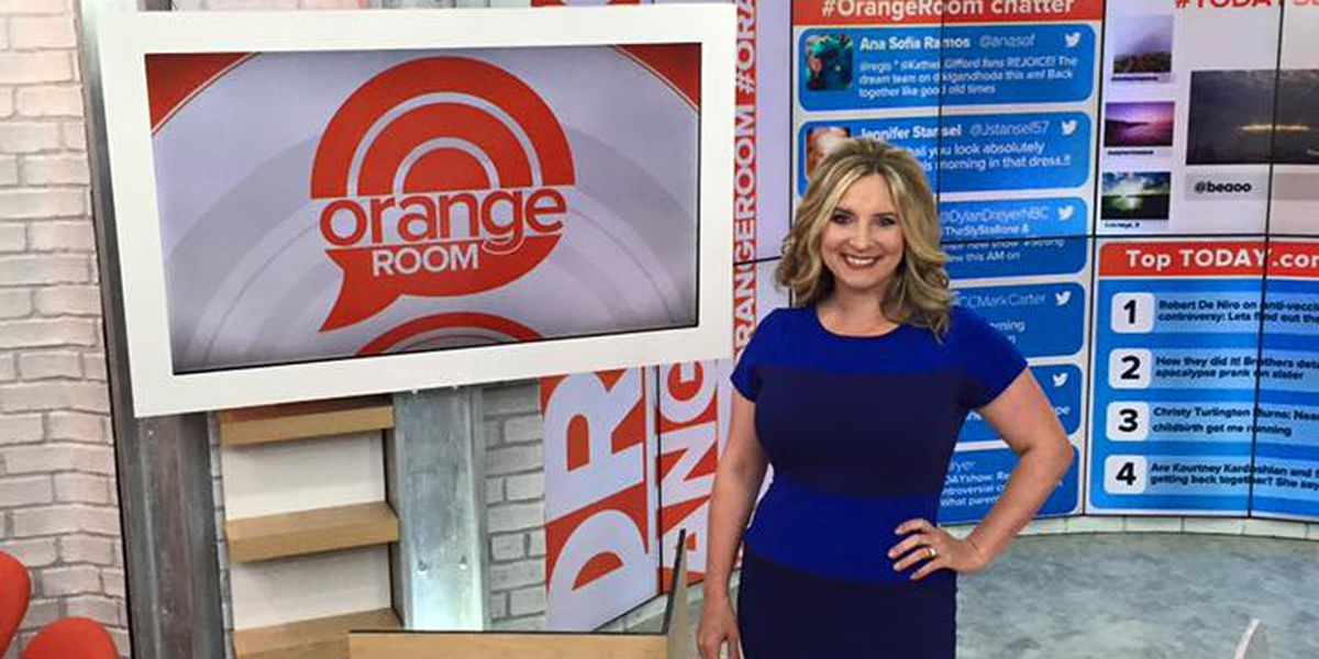 WMBF News' Marla Branson appears on Today Show for #RunForToday!