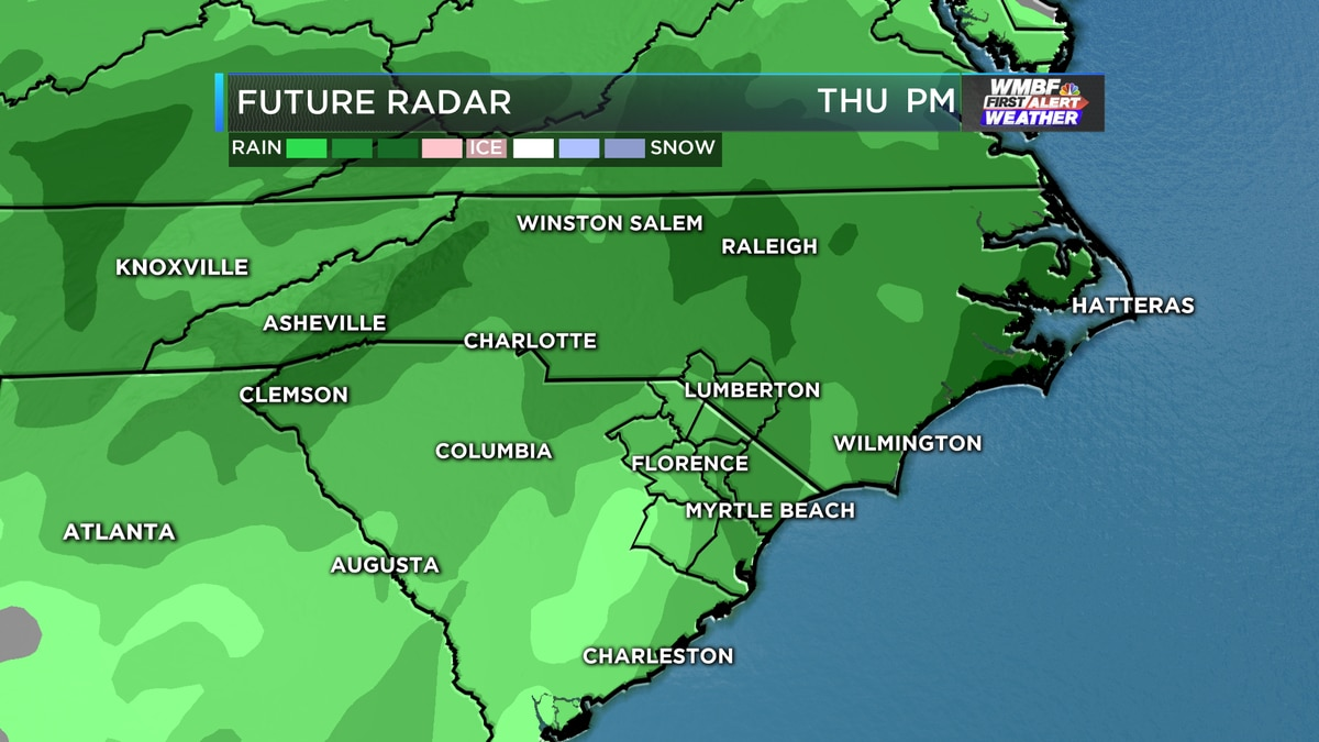 First Alert: Another round of heavy rain arrives this week