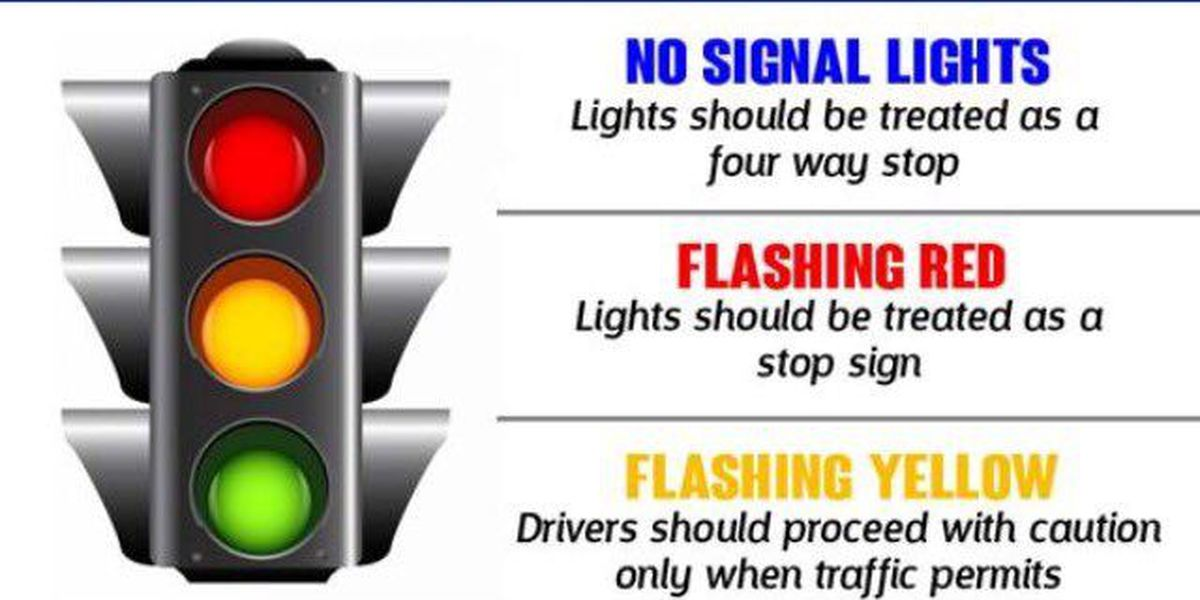 What to do if a traffic light isn't working
