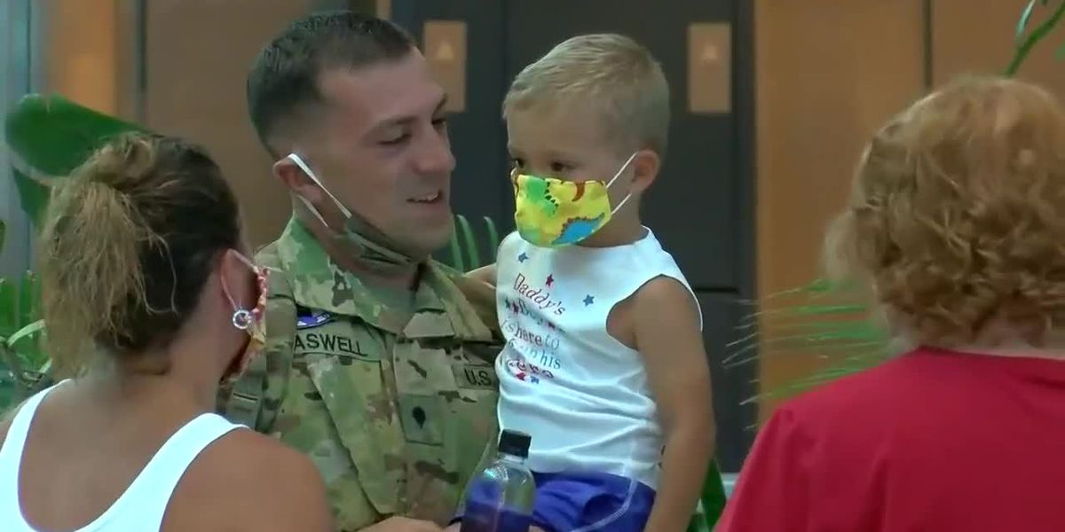 Solider returns home to Myrtle Beach after deployment in Afghanistan