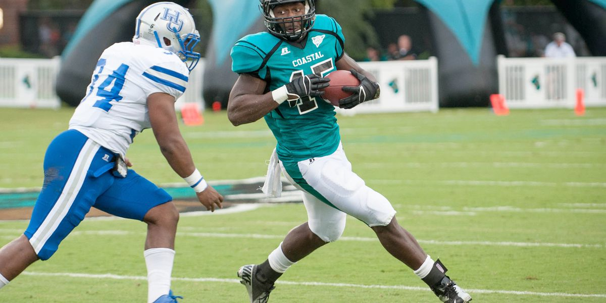 'Love you, Zo!': CCU, Ravens remember former RB who died Wednesday
