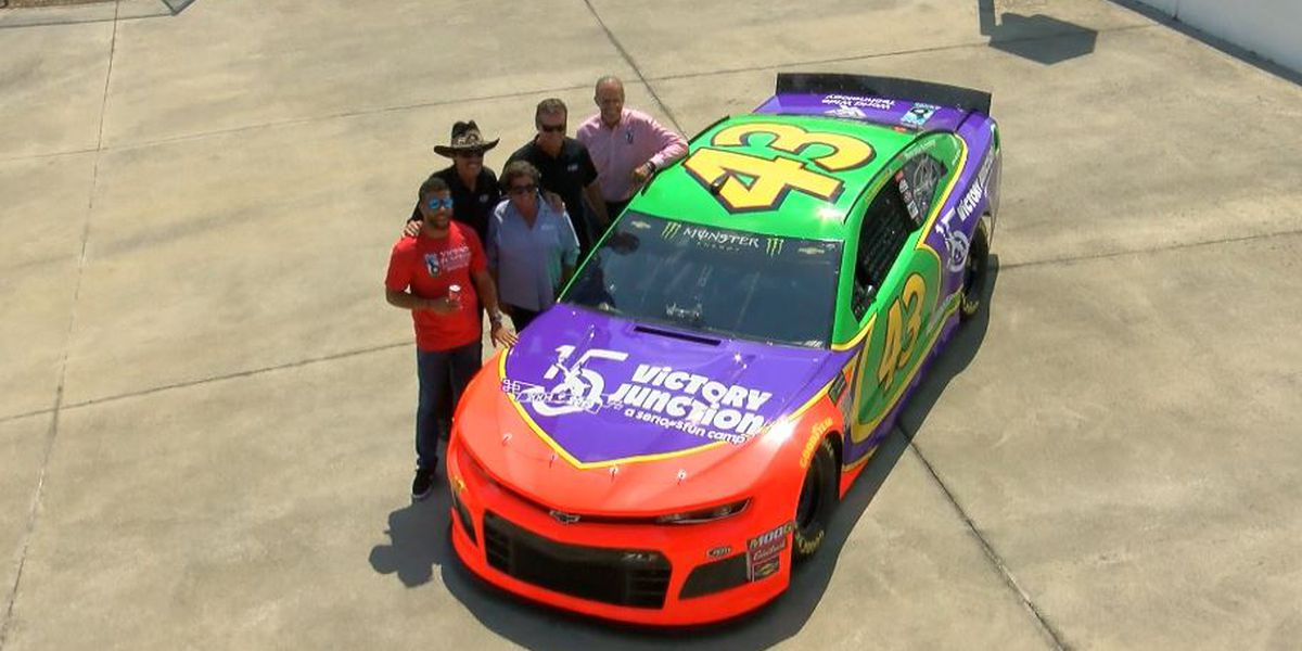 Bubba Wallace unveils Adam Petty throwback for Bojangles' Southern 500