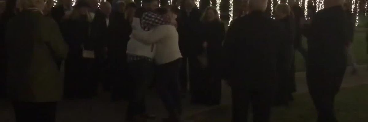 Proposal at Nights of a Thousand Candles