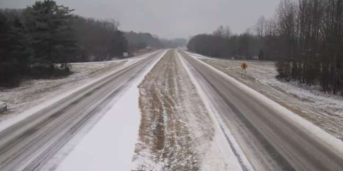 NCDOT offers tips for driving on icy roads