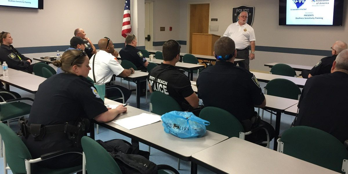 Myrtle Beach first responders attend training for helping those with hearing loss