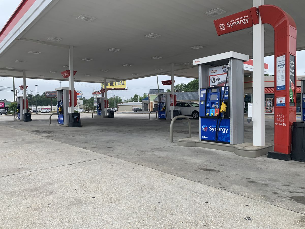 Florence County law enforcement monitor gas stations as pumps run dry