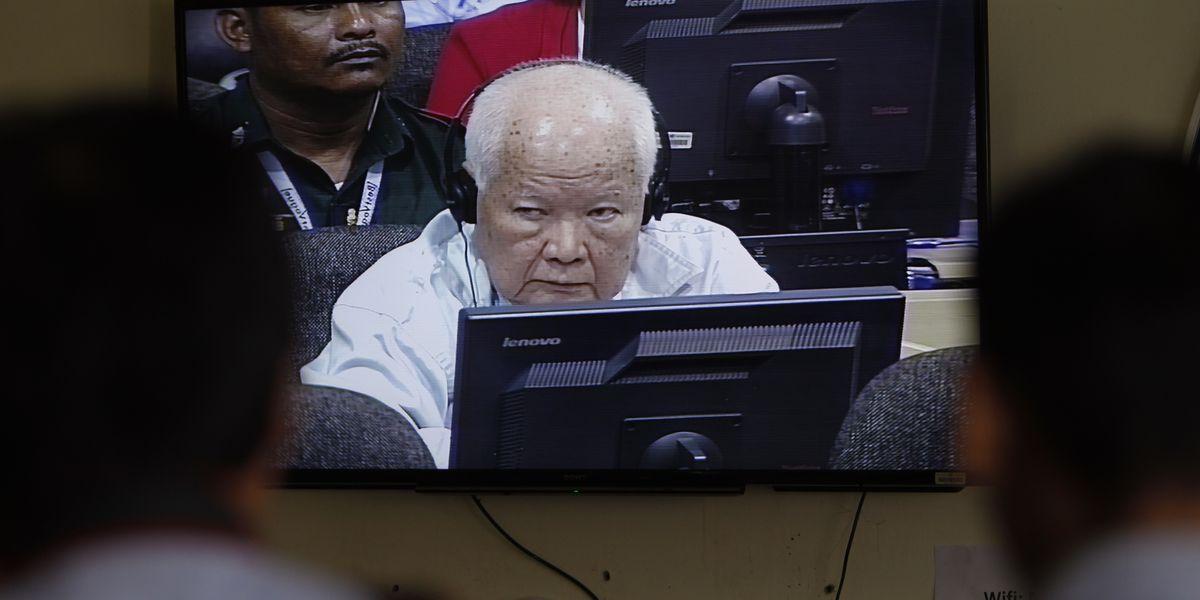 The Latest: Last Khmer Rouge leaders get life sentences