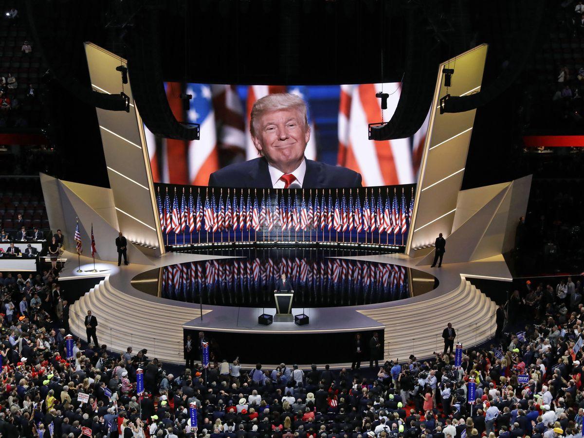 Trump's grand GOP convention plans shrink as virus surges