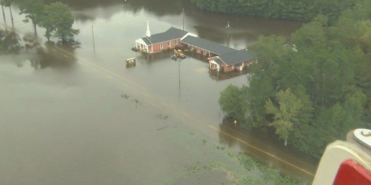 Crews perform evacuations as Lynches River rises in Florence County
